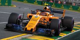 McLaren Renault - MCL33 2018 yellow-orange - 1:43 - Minichamps - 537184302 - mc537184302 | The Diecast Company
