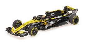 Renault  - RS18 2018 yellow/black - 1:43 - Minichamps - 417180055 - mc417180055 | The Diecast Company