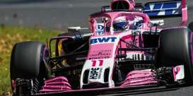 Force India Mercedes Benz - VJM11 2018 pink - 1:43 - Minichamps - mc417180011 | The Diecast Company