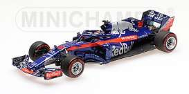 Scuderia Toro Rosso - STR13 2018 blue/red - 1:43 - Minichamps - 417180028 - mc417180028 | The Diecast Company