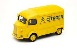 Citroen  - HY 1962 yellow/blue - 1:24 - Welly - 24019TDCy - welly24019TDCy | The Diecast Company