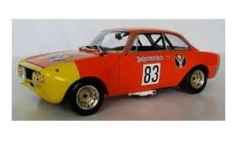 Alfa Romeo  - 1972 orange-red - 1:18 - Minichamps - 155721283 - mc155721283 | The Diecast Company