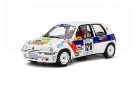 Peugeot  - white/bleu - 1:18 - OttOmobile Miniatures - otto282 | The Diecast Company