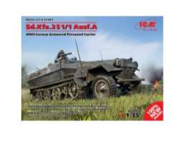 Military Vehicles  - Sd.kfz. 251/1  - 1:35 - ICM - icm35101 | The Diecast Company
