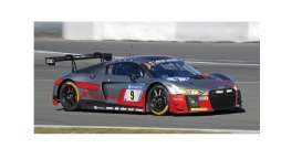 Audi  - R8 LMS 2017 grey/red - 1:18 - Minichamps - mc155171709 | The Diecast Company
