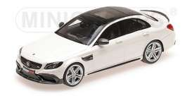 Brabus Mercedes Benz - 600 2015 white - 1:87 - Minichamps - 870038602 - mc870038602 | The Diecast Company