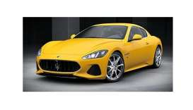 Maserati  - Granturismo 2018 yellow - 1:87 - Minichamps - 870123120 - mc870123120 | The Diecast Company