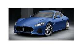 Maserati  - Granturismo 2018 blue - 1:87 - Minichamps - 870123121 - mc870123121 | The Diecast Company