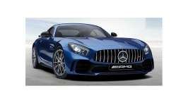 Mercedes Benz  - AMG GT-R 2017 blue - 1:87 - Minichamps - 870037221 - mc870037221 | The Diecast Company