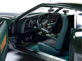 Ford  - Mustang Mach I 1973 dark green - 1:18 - Auto World - amm1144 - AMM1144 | The Diecast Company