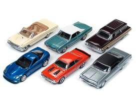 Assortment/ Mix  - various - 1:64 - Auto World - AW64162B | The Diecast Company