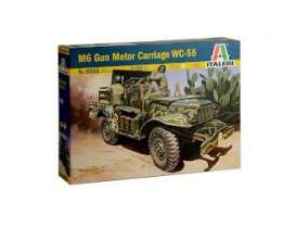 Military Vehicles  - M6  - 1:35 - Italeri - 6555 - ita6555 | The Diecast Company
