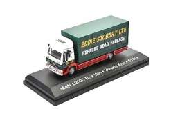MAN  - L2000 white/red/green - 1:76 - Magazine Models - STOjv9118 - magSTOjv9118 | The Diecast Company