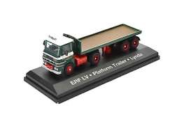 ERF  - LV Flatbed green/red - 1:76 - Magazine Models - STOjv9123 - magSTOjv9123 | The Diecast Company