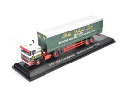Daf  - 2800 green/red/white - 1:76 - Magazine Models - STOjv9127 - magSTOjv9127 | The Diecast Company
