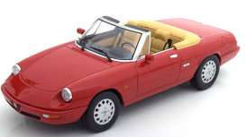 Alfa Romeo  - Series 4 1990 red - 1:18 - KK - Scale - dc180181 - kkdc180181 | The Diecast Company