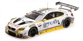 BMW  - M6 2017 white/black - 1:18 - Minichamps - mc155172698 | The Diecast Company