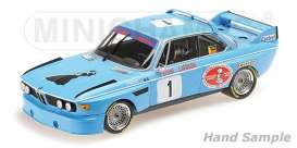 BMW  - 3.0 CSL 1974 blue - 1:18 - Minichamps - 155742681 - mc155742681 | The Diecast Company