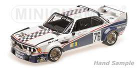 BMW  - 3.0 CSL 1977 white/black - 1:18 - Minichamps - 155772576 - mc155772576 | The Diecast Company