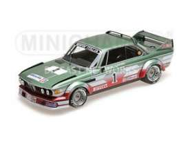 BMW  - 3.0 CSL 1979 green/red - 1:18 - Minichamps - 155792501 - mc155792501 | The Diecast Company