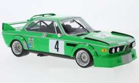 BMW  - 3.0 CSL 1979 green - 1:18 - Minichamps - mc155792504 | The Diecast Company