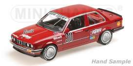 BMW  - 325I 1986 red - 1:18 - Minichamps - 155862630 - mc155862630 | The Diecast Company