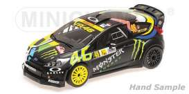 Ford  - Fiesta 2012 black/yellow - 1:18 - Minichamps - 151120846 - mc151120846 | The Diecast Company