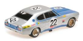 Ford  - RS 2600 1971 silver/blue - 1:18 - Minichamps - 155718522 - mc155718522 | The Diecast Company