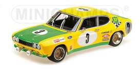 Ford  - RS 2600 1972 yellow/green - 1:18 - Minichamps - 155728503 - mc155728503 | The Diecast Company