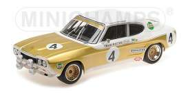 Ford  - RS 2600 1972 white/brown - 1:18 - Minichamps - 155728504 - mc155728504 | The Diecast Company