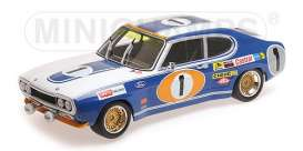Ford  - RS 2600 1972 blue/white - 1:18 - Minichamps - 155728511 - mc155728511 | The Diecast Company