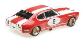 Ford  - RS 2600 1973 white/red - 1:18 - Minichamps - mc155738506 | The Diecast Company