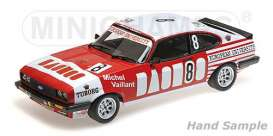 Ford  - Capri 3.0 1980 red - 1:18 - Minichamps - 155808608 - mc155808608 | The Diecast Company