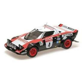 Lancia  - Stratos 1978 blue/white - 1:18 - Minichamps - 155781704 - mc155781704 | The Diecast Company