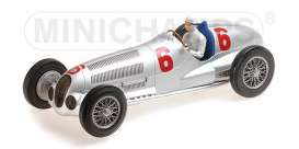 Mercedes Benz  - W125 1937 silver - 1:18 - Minichamps - 155373106 - mc155373106 | The Diecast Company