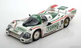 Porsche  - 962C 1985 white/green - 1:18 - Minichamps - 155856519 - mc155856519 | The Diecast Company