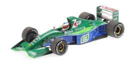 Jordan Ford - 191 1991 green/blue - 1:18 - Minichamps - 510911801 - mc510911801 | The Diecast Company