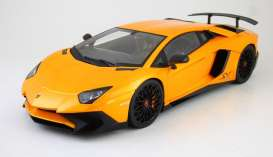 Lamborghini  - 2015 orange - 1:18 - Kyosho - 9521Po - kyo9521Po | The Diecast Company