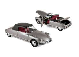 Citroen  - DS 19 1961 grey - 1:18 - Norev - 181598 - nor181598 | The Diecast Company