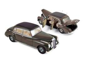 Mercedes Benz  - 300 1955 dark grey - 1:18 - Norev - nor183591 | The Diecast Company