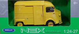 Citroen  - HY 1962 yellow - 1:24 - Welly - 24019y - welly24019y | The Diecast Company