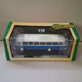 Jelcz  - 043 1959 blue/white - 1:72 - Magazine Models - BUS7163132 - magBUS7163132 | The Diecast Company