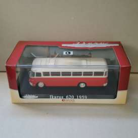 Ikarus  - 620 1959 red/white - 1:72 - Magazine Models - BUS3570006 - magBUS3570006 | The Diecast Company