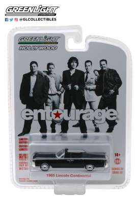Lincoln  - Continental Cabrio *Entourage* 1965  - 1:64 - GreenLight - 44820D - gl44820D | The Diecast Company