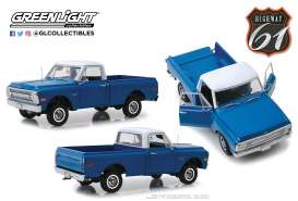 Chevrolet  - C-10 1970 darl poly blue - 1:18 - Highway 61 - hwy18011 | The Diecast Company