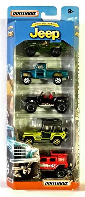 Jeep  - various - 1:64 - Matchbox - DRC45 - matDRC45 | The Diecast Company
