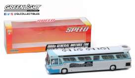 General Motors  - TDH 1960 blue/silver/white - 1:43 - GreenLight - 86544 - gl86544 | The Diecast Company