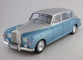 Rolls Royce  - light blue/silver - 1:18 - Kyosho - 8905lbs - kyo8905lbs | The Diecast Company