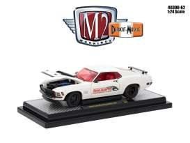 Ford  - Mustang Boss 429 1970 white/red - 1:24 - M2 Machines - M2-40300-62A | The Diecast Company