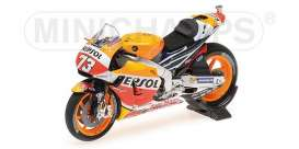 Honda  - RC213V 2016 red/yellow/orange - 1:18 - Minichamps - 182161173 - mc182161173 | The Diecast Company